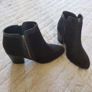 Shoe Dazzle black booties